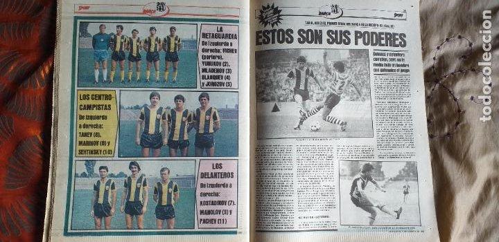 Coleccionismo deportivo: SPORT-Nº612-1981-SCHUSTER-POSTER CENTRAL PLANTILLA ESPAÑOL 82-36 PAGINAS - Foto 2 - 21071575