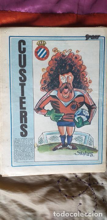 Coleccionismo deportivo: SPORT-Nº612-1981-SCHUSTER-POSTER CENTRAL PLANTILLA ESPAÑOL 82-36 PAGINAS - Foto 3 - 21071575