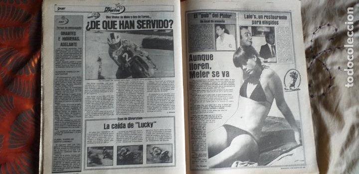 Coleccionismo deportivo: SPORT-Nº612-1981-SCHUSTER-POSTER CENTRAL PLANTILLA ESPAÑOL 82-36 PAGINAS - Foto 4 - 21071575