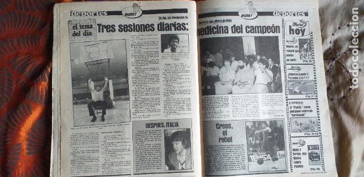 Coleccionismo deportivo: SPORT-Nº612-1981-SCHUSTER-POSTER CENTRAL PLANTILLA ESPAÑOL 82-36 PAGINAS - Foto 5 - 21071575