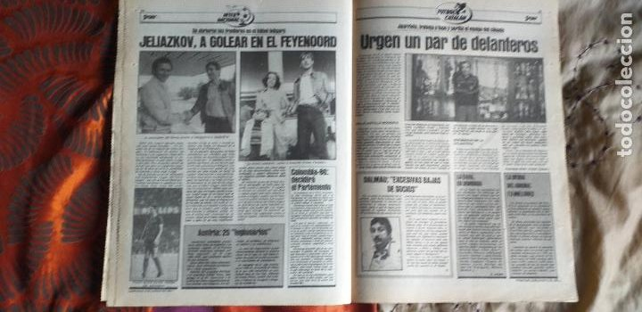 Coleccionismo deportivo: SPORT-Nº612-1981-SCHUSTER-POSTER CENTRAL PLANTILLA ESPAÑOL 82-36 PAGINAS - Foto 7 - 21071575