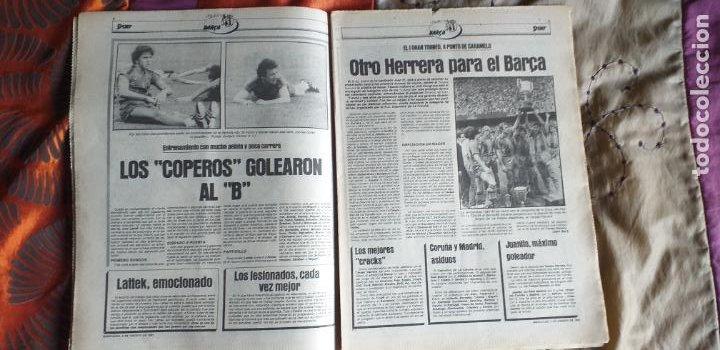 Coleccionismo deportivo: SPORT-Nº612-1981-SCHUSTER-POSTER CENTRAL PLANTILLA ESPAÑOL 82-36 PAGINAS - Foto 10 - 21071575