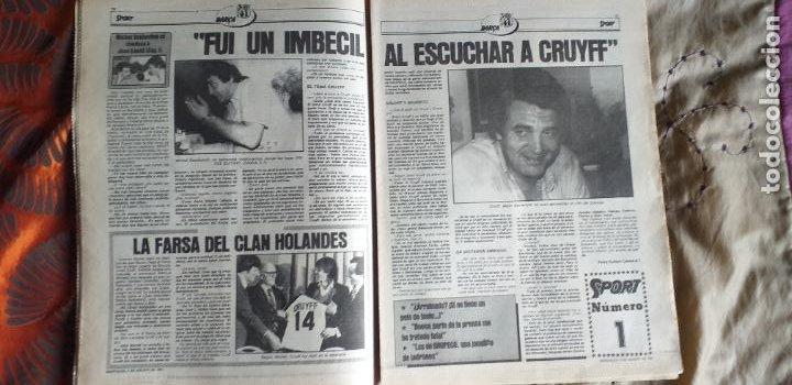Coleccionismo deportivo: SPORT-Nº612-1981-SCHUSTER-POSTER CENTRAL PLANTILLA ESPAÑOL 82-36 PAGINAS - Foto 11 - 21071575