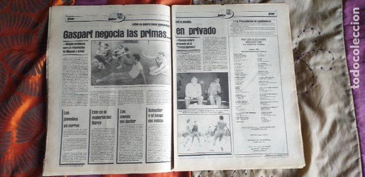 Coleccionismo deportivo: SPORT-Nº612-1981-SCHUSTER-POSTER CENTRAL PLANTILLA ESPAÑOL 82-36 PAGINAS - Foto 12 - 21071575