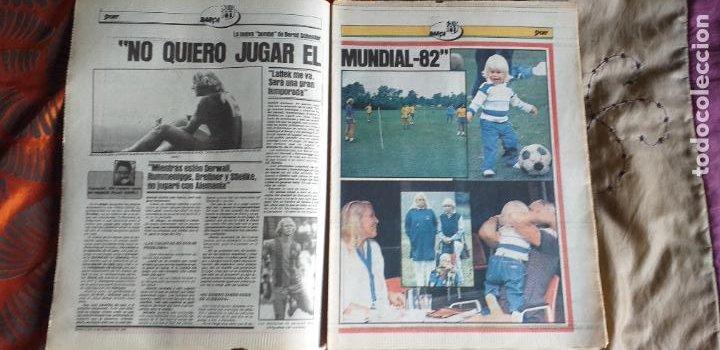 Coleccionismo deportivo: SPORT-Nº612-1981-SCHUSTER-POSTER CENTRAL PLANTILLA ESPAÑOL 82-36 PAGINAS - Foto 13 - 21071575