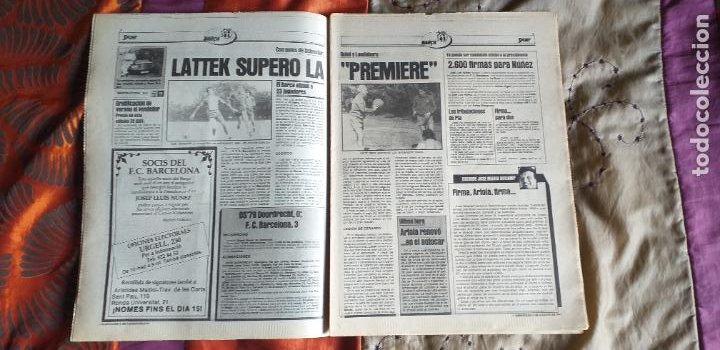 Coleccionismo deportivo: SPORT-Nº612-1981-SCHUSTER-POSTER CENTRAL PLANTILLA ESPAÑOL 82-36 PAGINAS - Foto 14 - 21071575