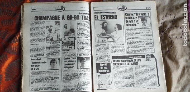 Coleccionismo deportivo: SPORT-Nº612-1981-SCHUSTER-POSTER CENTRAL PLANTILLA ESPAÑOL 82-36 PAGINAS - Foto 16 - 21071575