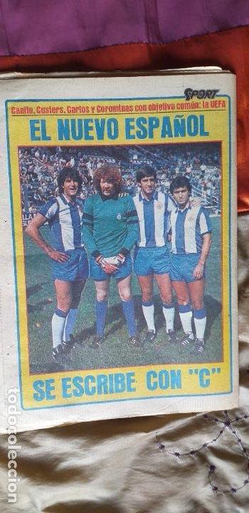 Coleccionismo deportivo: SPORT-Nº613-1981-VICTOR-36 PAGINAS-SIMONSEN-JUANITO-UDO LATTEK-MAURI-ORMAECHEA - Foto 2 - 21071692