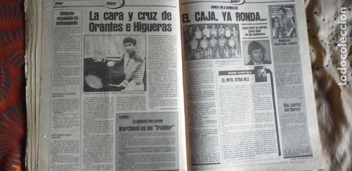 Coleccionismo deportivo: SPORT-Nº613-1981-VICTOR-36 PAGINAS-SIMONSEN-JUANITO-UDO LATTEK-MAURI-ORMAECHEA - Foto 5 - 21071692