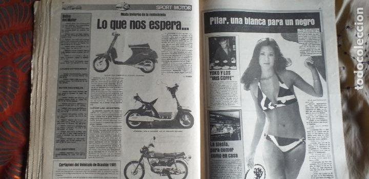 Coleccionismo deportivo: SPORT-Nº613-1981-VICTOR-36 PAGINAS-SIMONSEN-JUANITO-UDO LATTEK-MAURI-ORMAECHEA - Foto 6 - 21071692