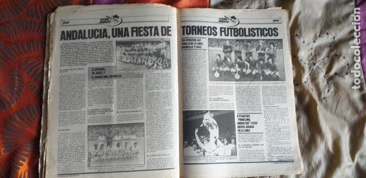 Coleccionismo deportivo: SPORT-Nº613-1981-VICTOR-36 PAGINAS-SIMONSEN-JUANITO-UDO LATTEK-MAURI-ORMAECHEA - Foto 7 - 21071692