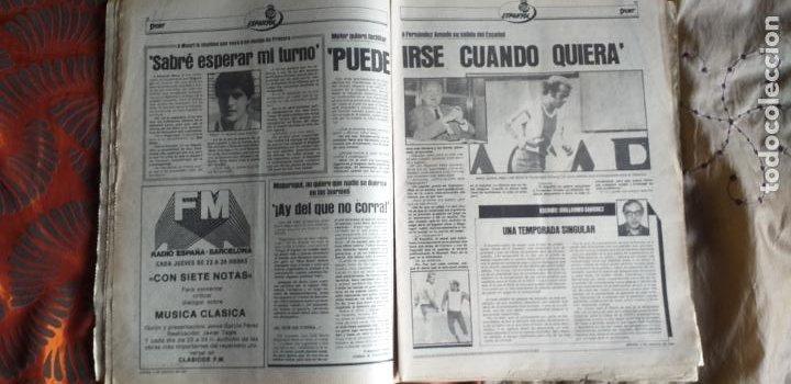 Coleccionismo deportivo: SPORT-Nº613-1981-VICTOR-36 PAGINAS-SIMONSEN-JUANITO-UDO LATTEK-MAURI-ORMAECHEA - Foto 8 - 21071692