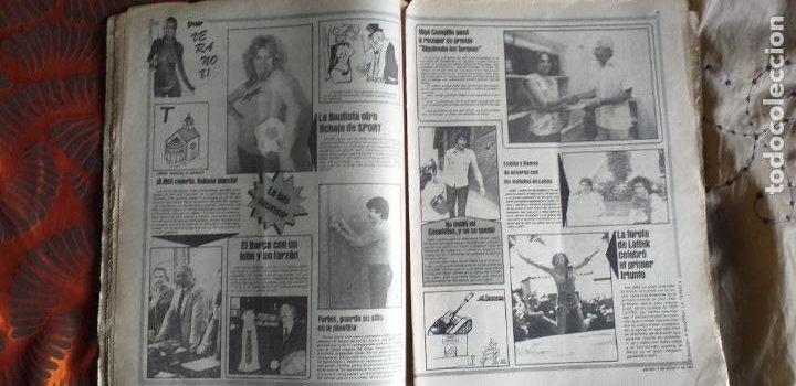 Coleccionismo deportivo: SPORT-Nº613-1981-VICTOR-36 PAGINAS-SIMONSEN-JUANITO-UDO LATTEK-MAURI-ORMAECHEA - Foto 9 - 21071692