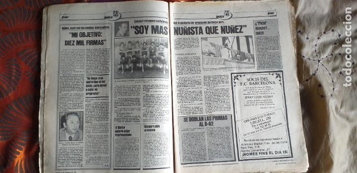 Coleccionismo deportivo: SPORT-Nº613-1981-VICTOR-36 PAGINAS-SIMONSEN-JUANITO-UDO LATTEK-MAURI-ORMAECHEA - Foto 11 - 21071692