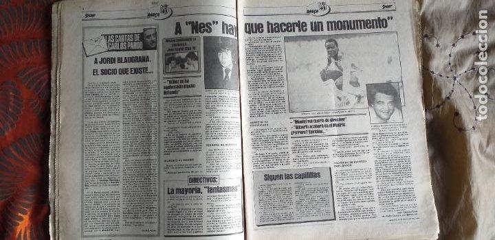 Coleccionismo deportivo: SPORT-Nº613-1981-VICTOR-36 PAGINAS-SIMONSEN-JUANITO-UDO LATTEK-MAURI-ORMAECHEA - Foto 12 - 21071692