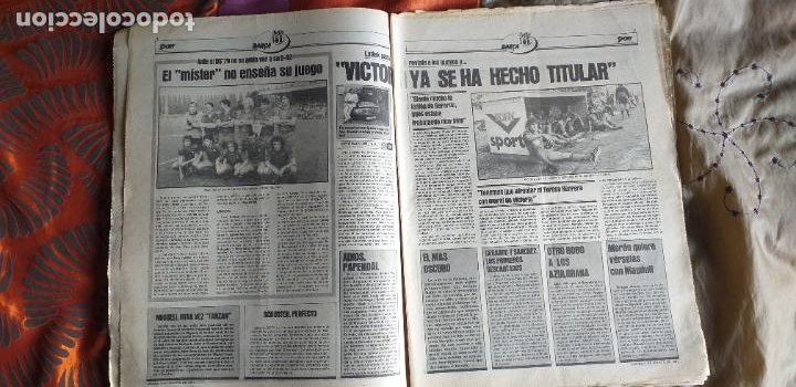 Coleccionismo deportivo: SPORT-Nº613-1981-VICTOR-36 PAGINAS-SIMONSEN-JUANITO-UDO LATTEK-MAURI-ORMAECHEA - Foto 13 - 21071692