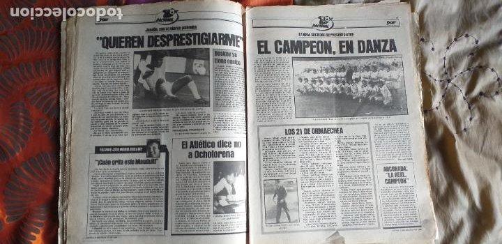 Coleccionismo deportivo: SPORT-Nº613-1981-VICTOR-36 PAGINAS-SIMONSEN-JUANITO-UDO LATTEK-MAURI-ORMAECHEA - Foto 15 - 21071692