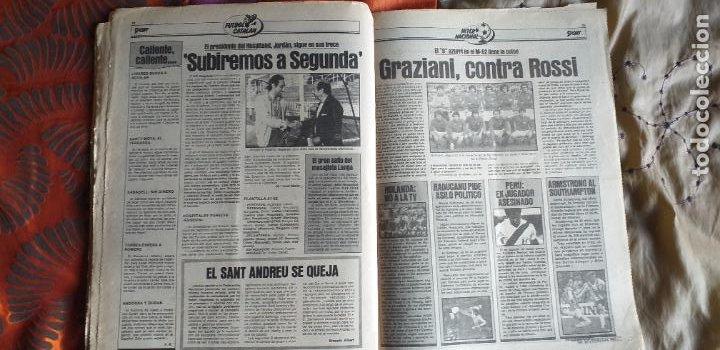Coleccionismo deportivo: SPORT-Nº613-1981-VICTOR-36 PAGINAS-SIMONSEN-JUANITO-UDO LATTEK-MAURI-ORMAECHEA - Foto 17 - 21071692