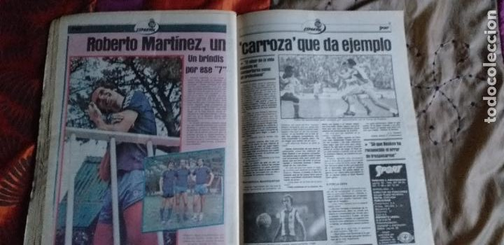 Coleccionismo deportivo: SPORT-Nº611-1981-URRUTI-MORAN-CARRASCO-MIGUELI-ZUVIRIA-JUANJO-ROBERTO MARTINEZ - Foto 4 - 21071503