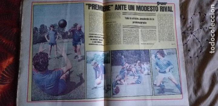 Coleccionismo deportivo: SPORT-Nº611-1981-URRUTI-MORAN-CARRASCO-MIGUELI-ZUVIRIA-JUANJO-ROBERTO MARTINEZ - Foto 5 - 21071503