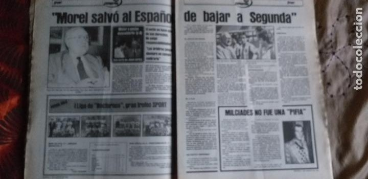Coleccionismo deportivo: SPORT-Nº611-1981-URRUTI-MORAN-CARRASCO-MIGUELI-ZUVIRIA-JUANJO-ROBERTO MARTINEZ - Foto 7 - 21071503