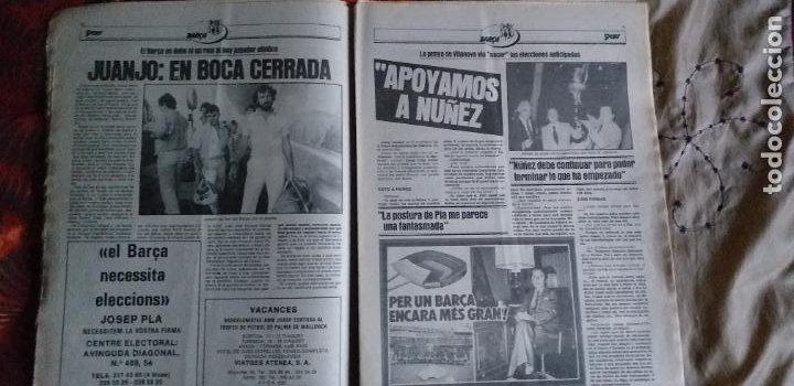 Coleccionismo deportivo: SPORT-Nº611-1981-URRUTI-MORAN-CARRASCO-MIGUELI-ZUVIRIA-JUANJO-ROBERTO MARTINEZ - Foto 8 - 21071503