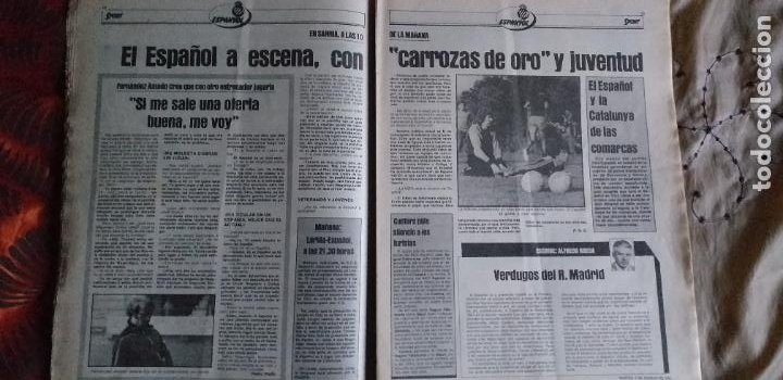 Coleccionismo deportivo: SPORT-Nº611-1981-URRUTI-MORAN-CARRASCO-MIGUELI-ZUVIRIA-JUANJO-ROBERTO MARTINEZ - Foto 9 - 21071503