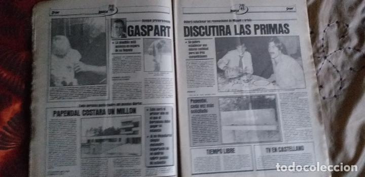 Coleccionismo deportivo: SPORT-Nº611-1981-URRUTI-MORAN-CARRASCO-MIGUELI-ZUVIRIA-JUANJO-ROBERTO MARTINEZ - Foto 10 - 21071503