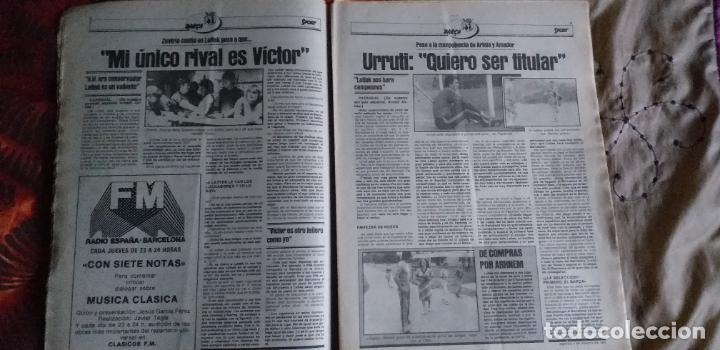 Coleccionismo deportivo: SPORT-Nº611-1981-URRUTI-MORAN-CARRASCO-MIGUELI-ZUVIRIA-JUANJO-ROBERTO MARTINEZ - Foto 11 - 21071503