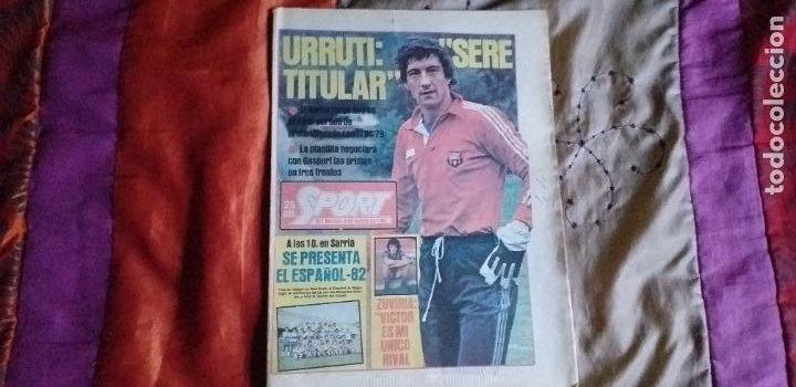 Coleccionismo deportivo: SPORT-Nº611-1981-URRUTI-MORAN-CARRASCO-MIGUELI-ZUVIRIA-JUANJO-ROBERTO MARTINEZ - Foto 13 - 21071503