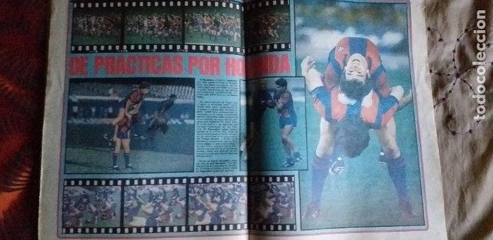 Coleccionismo deportivo: SPORT-Nº608-1981-36 PAGINAS-URRUTI-MORAN-UDO LATTEK-AMADOR-CUSTER-CANITO-CARRASCO-LUIS ARAGONES - Foto 5 - 21071671