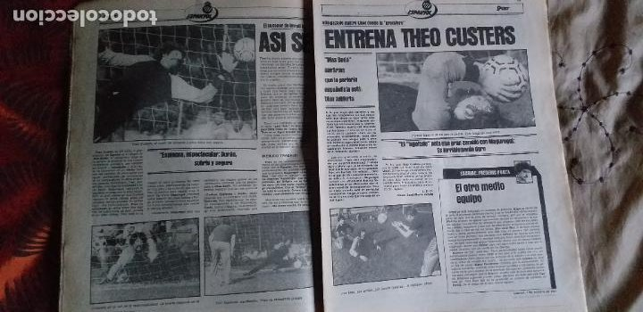 Coleccionismo deportivo: SPORT-Nº608-1981-36 PAGINAS-URRUTI-MORAN-UDO LATTEK-AMADOR-CUSTER-CANITO-CARRASCO-LUIS ARAGONES - Foto 8 - 21071671
