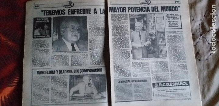 Coleccionismo deportivo: SPORT-Nº608-1981-36 PAGINAS-URRUTI-MORAN-UDO LATTEK-AMADOR-CUSTER-CANITO-CARRASCO-LUIS ARAGONES - Foto 11 - 21071671