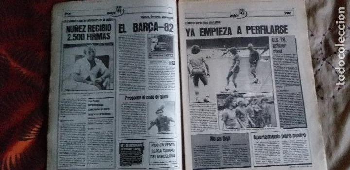 Coleccionismo deportivo: SPORT-Nº608-1981-36 PAGINAS-URRUTI-MORAN-UDO LATTEK-AMADOR-CUSTER-CANITO-CARRASCO-LUIS ARAGONES - Foto 12 - 21071671