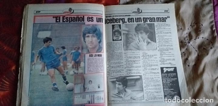 Coleccionismo deportivo: SPORT-Nº616-1981-LATTEK- CASAUS-MARCOS-36 PAGINAS-QUINI- - Foto 2 - 21071770
