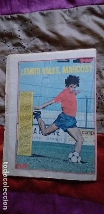 Coleccionismo deportivo: SPORT-Nº616-1981-LATTEK- CASAUS-MARCOS-36 PAGINAS-QUINI- - Foto 3 - 21071770