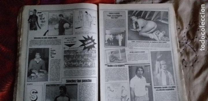 Coleccionismo deportivo: SPORT-Nº616-1981-LATTEK- CASAUS-MARCOS-36 PAGINAS-QUINI- - Foto 8 - 21071770