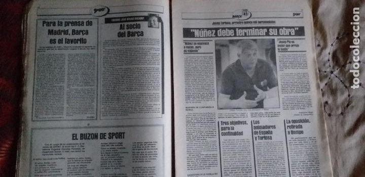 Coleccionismo deportivo: SPORT-Nº616-1981-LATTEK- CASAUS-MARCOS-36 PAGINAS-QUINI- - Foto 9 - 21071770