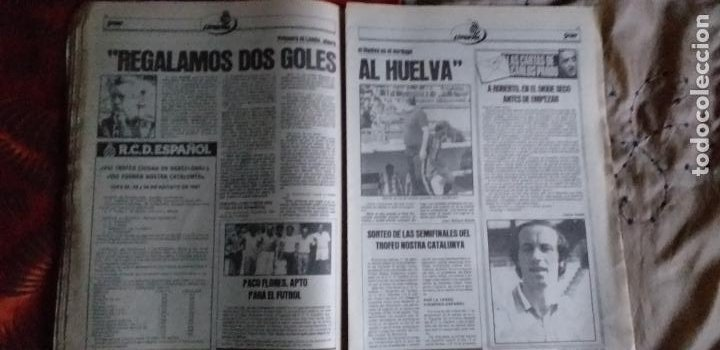 Coleccionismo deportivo: SPORT-Nº616-1981-LATTEK- CASAUS-MARCOS-36 PAGINAS-QUINI- - Foto 11 - 21071770
