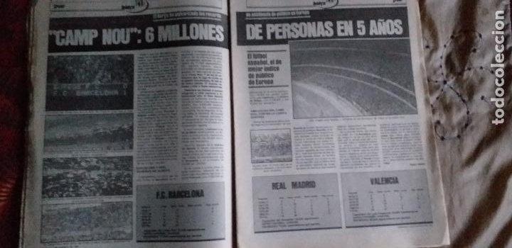Coleccionismo deportivo: SPORT-Nº616-1981-LATTEK- CASAUS-MARCOS-36 PAGINAS-QUINI- - Foto 12 - 21071770