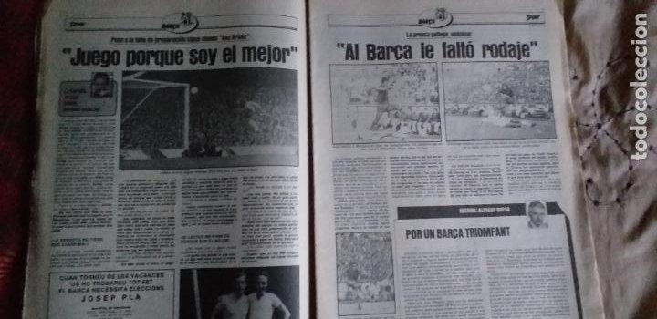 Coleccionismo deportivo: SPORT-Nº616-1981-LATTEK- CASAUS-MARCOS-36 PAGINAS-QUINI- - Foto 13 - 21071770