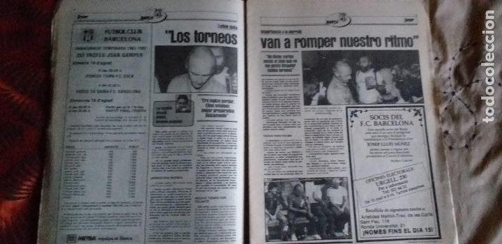 Coleccionismo deportivo: SPORT-Nº616-1981-LATTEK- CASAUS-MARCOS-36 PAGINAS-QUINI- - Foto 14 - 21071770