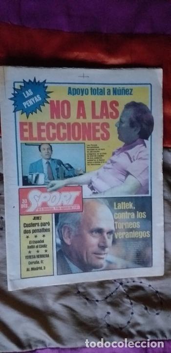 Coleccionismo deportivo: SPORT-Nº616-1981-LATTEK- CASAUS-MARCOS-36 PAGINAS-QUINI- - Foto 16 - 21071770