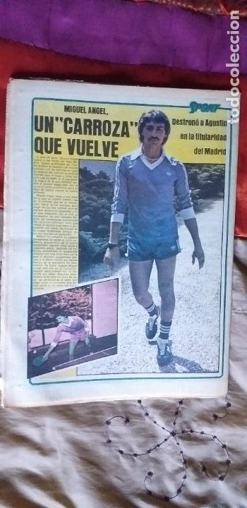 Coleccionismo deportivo: SPORT-1981-Nº617-NUÑEZ CANDIDATO-36 PAGINAS-MIGUEL ANGEL-SIMONSEN-ESTEBAN-SCHUSTER-URRUTI - Foto 2 - 21071836