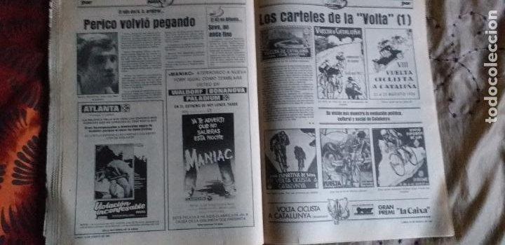 Coleccionismo deportivo: SPORT-1981-Nº617-NUÑEZ CANDIDATO-36 PAGINAS-MIGUEL ANGEL-SIMONSEN-ESTEBAN-SCHUSTER-URRUTI - Foto 3 - 21071836