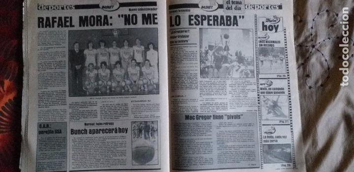 Coleccionismo deportivo: SPORT-1981-Nº617-NUÑEZ CANDIDATO-36 PAGINAS-MIGUEL ANGEL-SIMONSEN-ESTEBAN-SCHUSTER-URRUTI - Foto 5 - 21071836