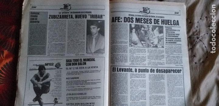Coleccionismo deportivo: SPORT-1981-Nº617-NUÑEZ CANDIDATO-36 PAGINAS-MIGUEL ANGEL-SIMONSEN-ESTEBAN-SCHUSTER-URRUTI - Foto 6 - 21071836