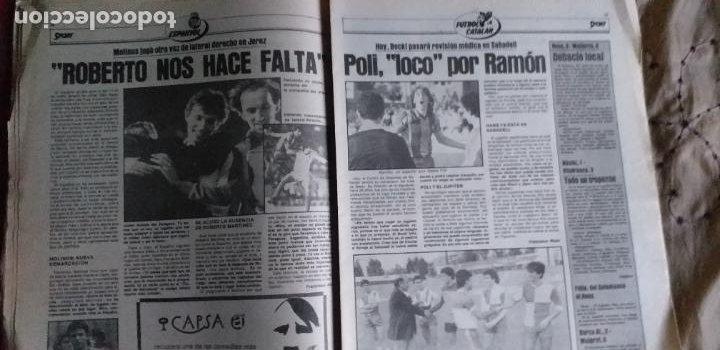 Coleccionismo deportivo: SPORT-1981-Nº617-NUÑEZ CANDIDATO-36 PAGINAS-MIGUEL ANGEL-SIMONSEN-ESTEBAN-SCHUSTER-URRUTI - Foto 8 - 21071836