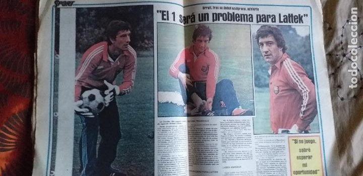 Coleccionismo deportivo: SPORT-1981-Nº617-NUÑEZ CANDIDATO-36 PAGINAS-MIGUEL ANGEL-SIMONSEN-ESTEBAN-SCHUSTER-URRUTI - Foto 9 - 21071836