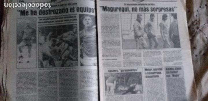 Coleccionismo deportivo: SPORT-1981-Nº617-NUÑEZ CANDIDATO-36 PAGINAS-MIGUEL ANGEL-SIMONSEN-ESTEBAN-SCHUSTER-URRUTI - Foto 10 - 21071836